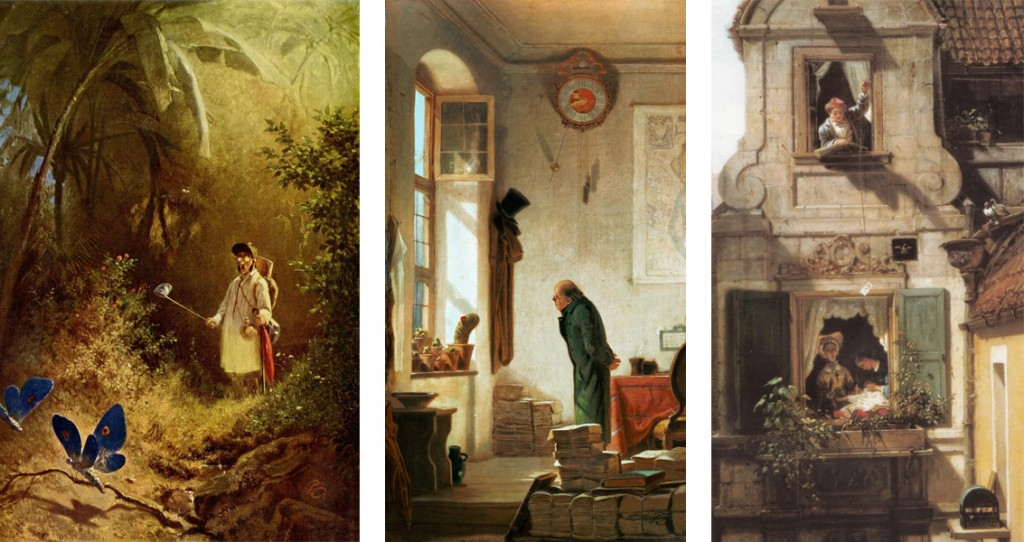 Spitzweg paintings